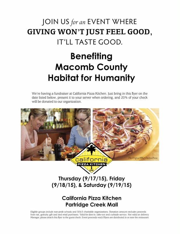 Habitat for Humanity Outreach Event at CPK